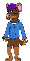 Charles the Hyena by The-Smile-Giver