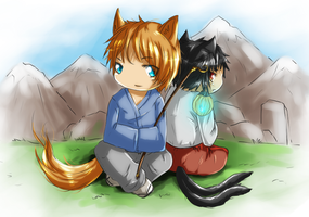 The Prince and the Cat by Rashirou