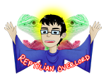 Reptilian Overlord by Jackie--Jack