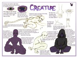Creature Refrence by 310
