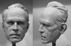 Life size head study_02 by glaucolonghi