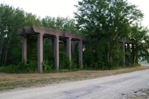 abandoned concrete structure s by pynipple