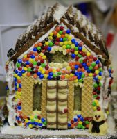 Gingerbread House by Coraloralyn