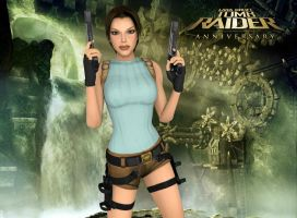 Lara From Render TRA by AlexCroft25