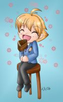 Honey loves his cake by Arian-Kage