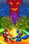 Megaman X Group Shot Poster by XCBDH