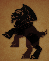 Grogar Shadow puppet by peachiekeenie