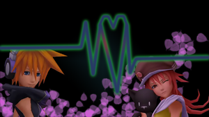 Neku and Shiki Wallpaper by Nix501st