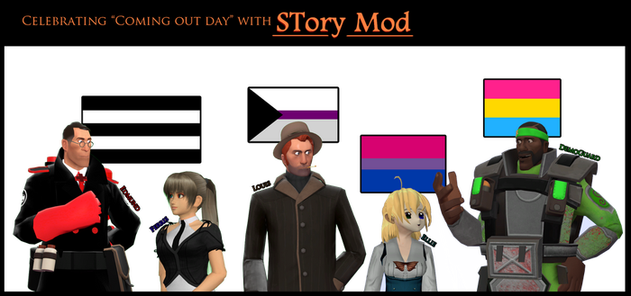 STory Mod cast in Coming Out Day by Noerusan