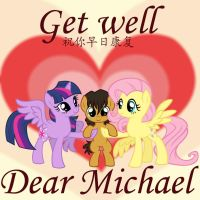 Get Well Dear Michael. by LordYanYu