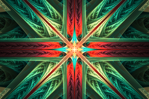 Symbol - Fractal Art by CMWVisualArts