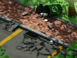 Army Antz Level Concept 3 by pangahas