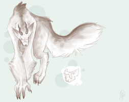 Your own wolfie pal thing. by Sooper-Kitsune