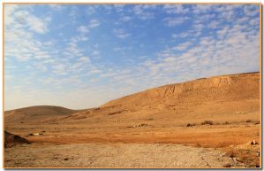 Desert bg by ShlomitMessica