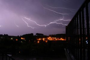 Thunder in the sky 1 by KaoR