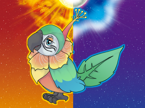 Alola Form Contest - CHATOT by Panai