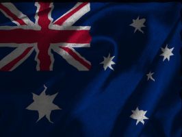 Australian Flag by catemate