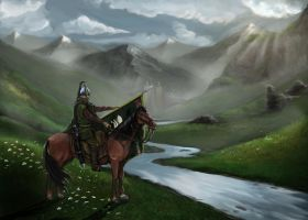 Rider of Rohan by timcatherall