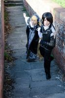 Kujo and Victorique by ShuzaCosplay