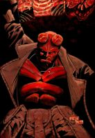 hellboy. by drklegion
