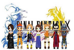Final Fantasy X by TheGirlCalledJef