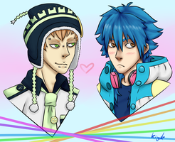 Prize: Noiz and Aoba by CaptainError