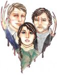 Hannibal - Family by candycoated-AI