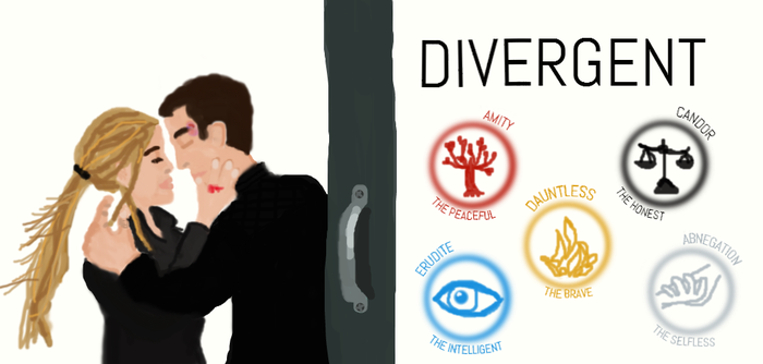DIVERGENT, TRIS, FOUR, AND THE FIVE FACTIONS by FABoOoSE101