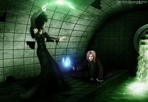F C-1 Bellatrix vs. Tonks by Mecha-Potato-Alex