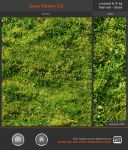 Grass Pattern 3.0 by Sed-rah-Stock