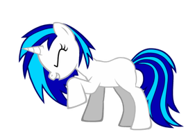Vinyl Scratch Vector by SlenderMare