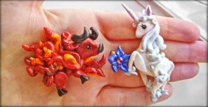 the last unicorn hair clip commission by mayumi-loves-sora