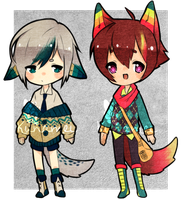 Collab Adopts - Reikeii 1/2 [CLOSED] by Kunamei