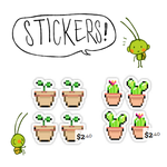 buy my stickers! by tontoh