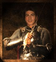Brandon Routh as knight 2 by TheRealImp