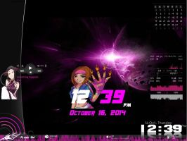 Christy Flame Taskbar And Start Button 1.0 by Exile-062