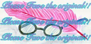 Glasses and a Feather by JerlitaShippersUnite