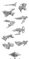StarShip Fleet by QuestingRaven