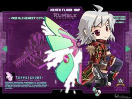 Rumble Fighter - Alchemist Exocore by Darkness1999th