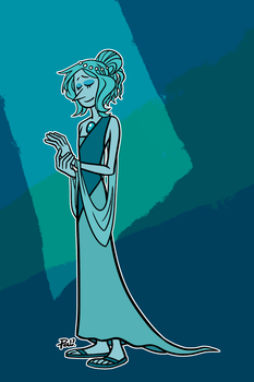 CONTEST PRIZE: Teal Pearl by JimPAVLICA
