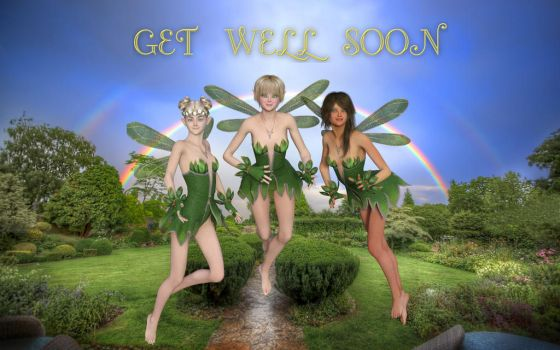 Get well Soon Card by DuneDrifter