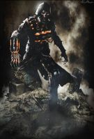 Custom Arkham Scarecrow Poster by NO-LooK-PaSS
