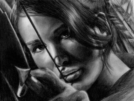 Katniss Everdeen by Azalea2010