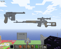 Minecraft-Video Game Guns by ApatheticApogee