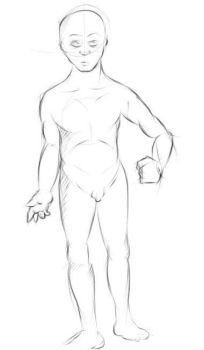 Human body doodle by Hammi4Real