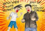 Angry Chinese Guys by FerrumFlos1st