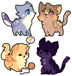Adoptable Cats Audition 2 CLOSED by dreamypixel