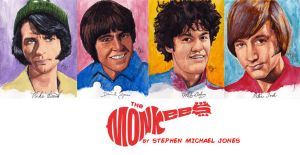 The Monkees by Stephen Michael Jones by smjblessing