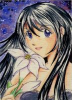 :C: ACEO - Hecate by ann-chan20