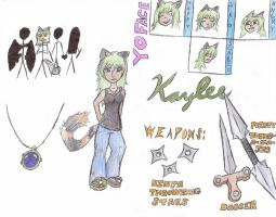 kaylee character sheet by kampfly